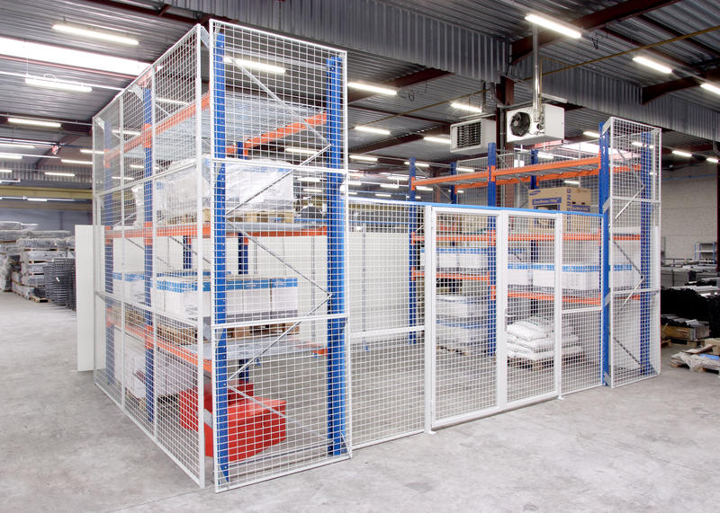 Security Amp Safety Wire Mesh Cages Doors And Panels