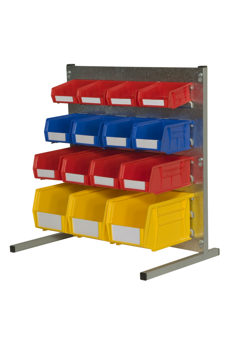 loured panel bench kit and parts bins