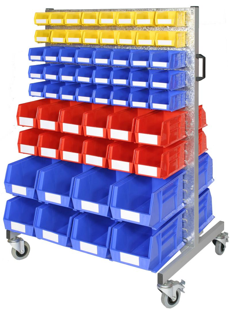 Officestor parts bin trolley