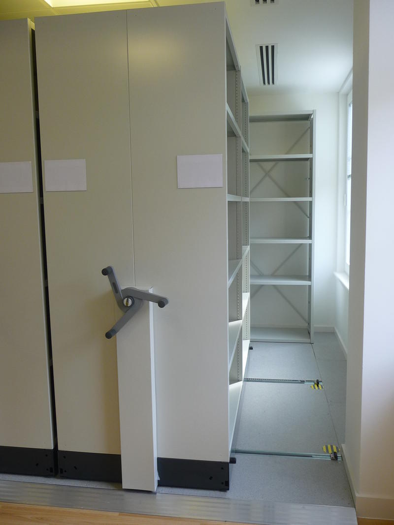 Medical Record Mobile Shelving OfficeSTOR