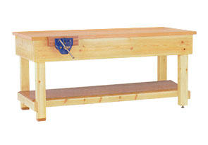 Fine Traditional Timber Work Benches Officestor Onthecornerstone Fun Painted Chair Ideas Images Onthecornerstoneorg